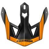 Šilt pre prilbu Cassida Cross Pro II oranžovo-čierno-sivý