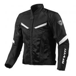 Letná bunda na motorku Revit GT-R Air čierno/biela vypredaj