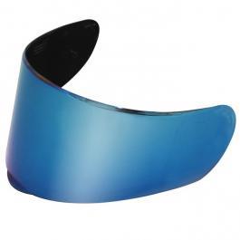 Modro irídiovej plexisklo pre prilbu LS2 FF397