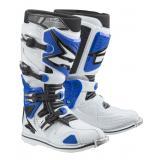 Moto topánky AXO A2 bielo-modré výpredaj