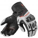Moto dámske rukavice Revit Chevron 2 bielo-čierne výpredaj