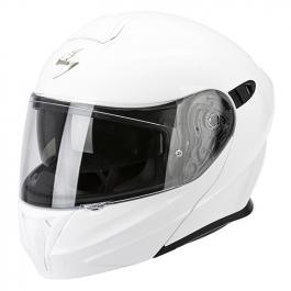 Prilba na motorku výklopná Scorpion EXO-920 biela
