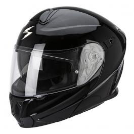 Prilba na motorku výklopná Scorpion EXO-920 čierna lesklá