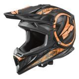 Motokrosová prilba AXO Jump čierno-fluo oranžová výpredaj