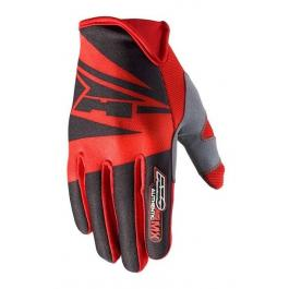 Motocrossové rukavice AXO SX čierno-červené výpredaj