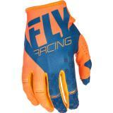 Motocrossové rukavice FLY Racing Kinetic 2018 - USA oranžovo-modré