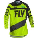 Motokrosový dres FLY Racing F-16 2018 - USA čierno-fluo žltý