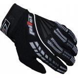MX rukavice na moto Pilot čierne