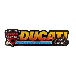 Nálepka 3D Ducati 2