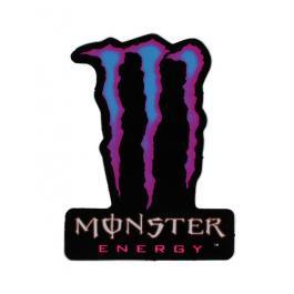 Nálepka Monster Energy modro-růžová
