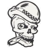 Nálepka Skull cigaru