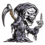 Nálepka Skull pravá