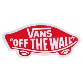 Nálepka VANS OFF THE WALL červená