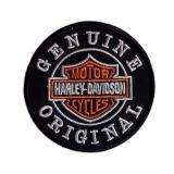 Nášivka a nažehlovačka Harley Davidson Genuine