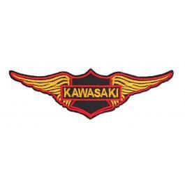 Nášivka a nažehlovačka Kawasaki krídla