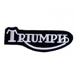 Nášivka a nažehlovačka Triumph čierna