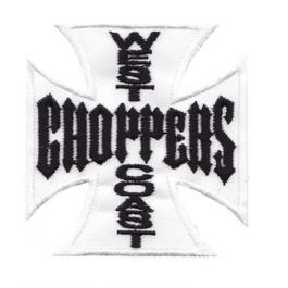 Nášivka a nažehlovačka West Coast Choppers biela 2