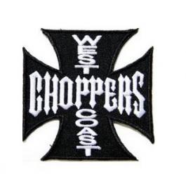 Nášivka a nažehlovačka West Coast Choppers černá 2
