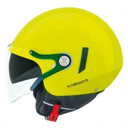 Otvorená prilba na moto Nexx SX 60 Vision žltá výpredaj