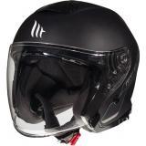 Otvorená prilba na motocykel MT Thunder 3 SV Solid čierna matná