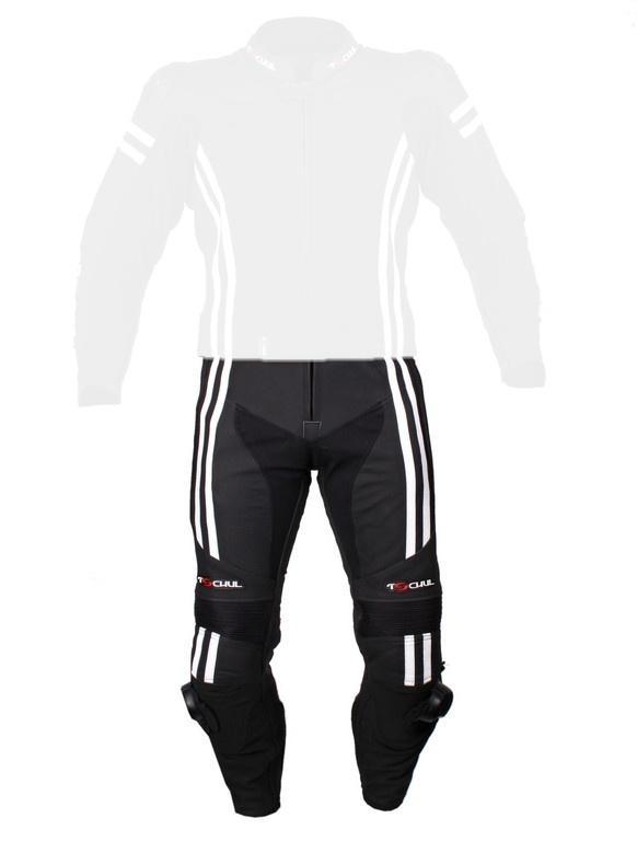 1868d04419b0 Pánske nohavice Tschul 555 čierno-biele vypredaj Akcia Výpredaj ...