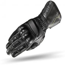 Pánske rukavice na motorku Shima STX čierne