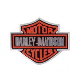 Plechová 3D nálepka Harley Davidson