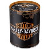 Plechová pokladnička Harley-Davidson