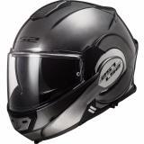 Preklápacia prilba na motocykel LS2 FF399 Valiant Jeans titánová - II. akosť