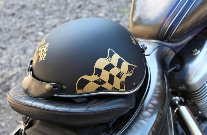 95aadfe4db7a7 Prilba na motorku Braincap RSA Flag čierna matná | Moto-oblecenie.sk