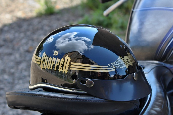 7e79731fdeb36 Prilba na motorku Braincap RSA Skull čierna lesklá | Moto-oblecenie.sk