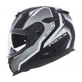 Prilba na motorku Nexx SX 100 Blast čierno-šedo-biela vypredaj výpredaj