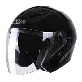 Moto prilba otvorená Axxis Boulevard čierna výpredaj