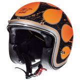 Prilba na motorku otvorená MT LeMans SV Flaming fluo oranžová výpredaj