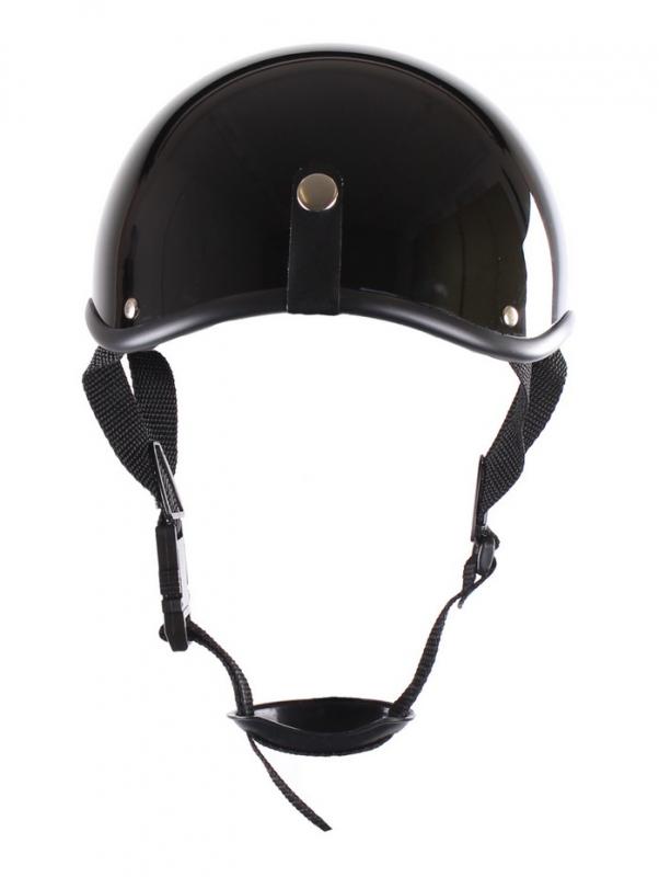 ed34fecd11095 Prilba na motorku RSA Chopper čierna lesklá | Moto-oblecenie.sk