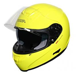 Prilba na motorku RSA SR-01 žltá výpredaj