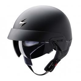Prilba na moto Scorpion EXO-100 čierna matná vypredaj