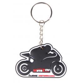 Přívěsek na klíče Motozem žijeme motorkama