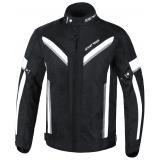 Predĺžená bunda na motocykel Street Racer Viper čierno-biela
