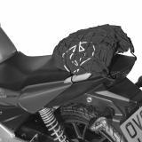 Pružná batožinová sieť Oxford pre motocykle reflexné čierna