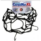 Pružná batožinová sieť pre motocykle Oxford XL 38x38 cm