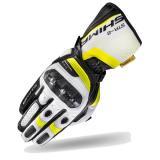 Rukavice Shima STR-2 čierno-bielo-fluo žlté