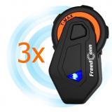 Sada 3 ks Bluetooth Intercomu T-MAX