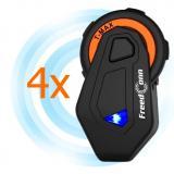 Sada 4 ks Bluetooth Intercomu T-MAX