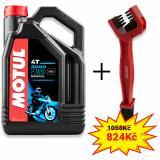 Sada olej 3000 20W-50 4L + kefa na čistenie reťaze Motul