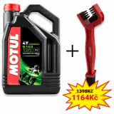 Sada olej 5100 Ester 10W-50 4L + kefa na čistenie reťaze Motul