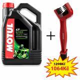 Sada olej 5100 Ester 15W-50 4L + kefa na čistenie reťaze Motul