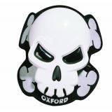 Slidery Oxford Skull biele výpredaj