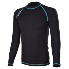 Termo tričko RSA Heat čierno-modré dlhý rukáv