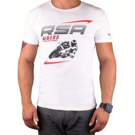 Tričko RSA Riders bielej